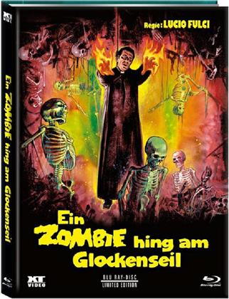 Ein Zombie hing am Glockenseil (1980) (Cover D, Limited Edition, Mediabook, Remastered, Uncut, Blu-ray + DVD)