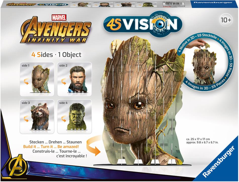 4S Vision - Avengers Infinity War Groot & Co