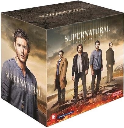 Supernatural - Saisons 1-12 (71 DVDs)