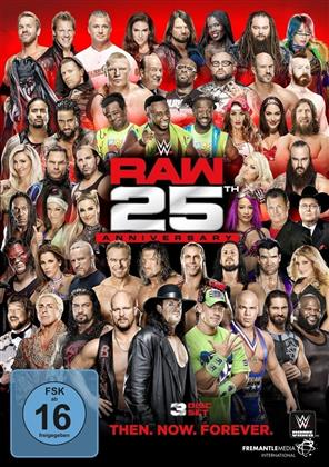WWE: Raw - 25th Anniversary (3 DVDs)