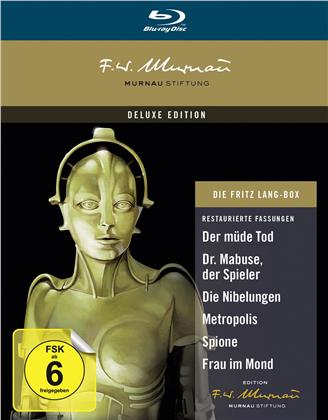 Die Fritz Lang Box (Deluxe Edition, 7 Blu-rays)