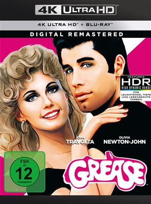Grease (1978) (Remastered, 4K Ultra HD + Blu-ray)