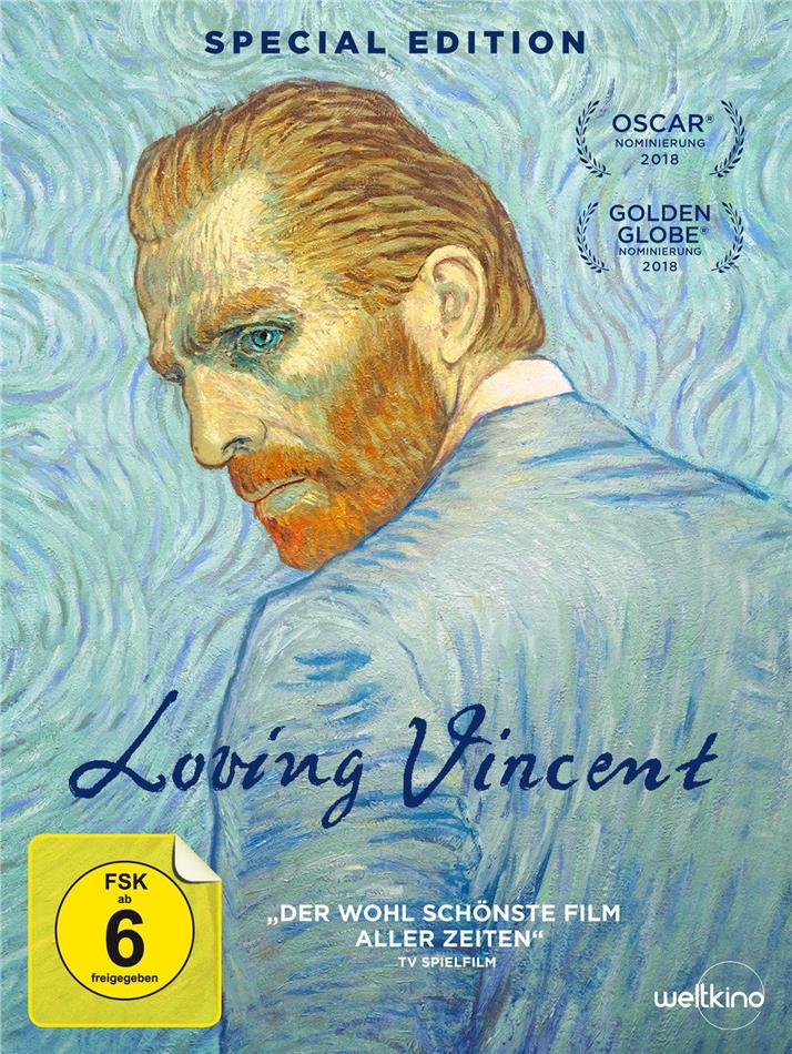 Loving Vincent (2017) (Limited Edition, Special Edition, DVD + CD)