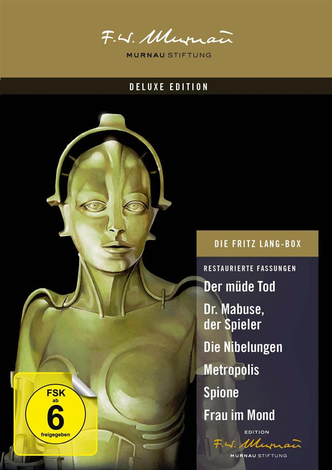 Die Fritz Lang Box (Deluxe Edition, 9 DVDs)