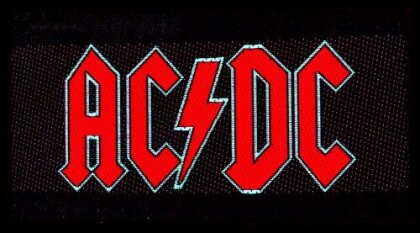 AC/DC Standard Patch - Red Logo (Loose)