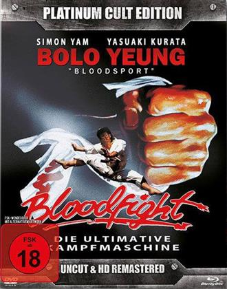 Bloodfight (1989) (HD Remastered, Platinum Cult Edition, Uncut, Blu-ray + DVD)