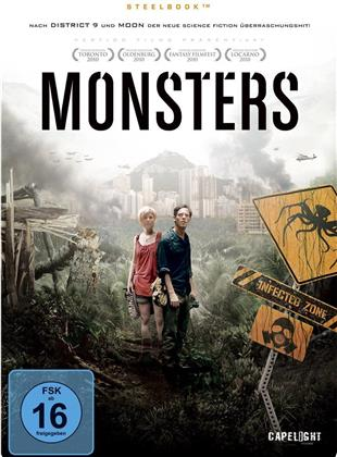 Monsters (2010) (Limited Edition, Steelbook, 2 DVDs)