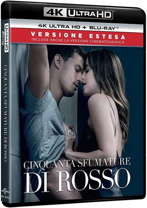 Cinquanta sfumature di rosso (2018) (Extended Edition, Kinoversion, 4K Ultra HD + Blu-ray)