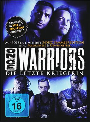 Once Were Warriors - Die letzte Kriegerin (1994) (Fan-Edition, Mediabook, Blu-ray + 2 DVDs)