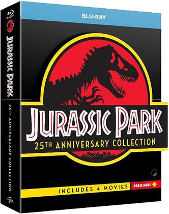 Jurassic Park Collection (25th Anniversary Edition, Limited Edition, 4 Blu-rays)