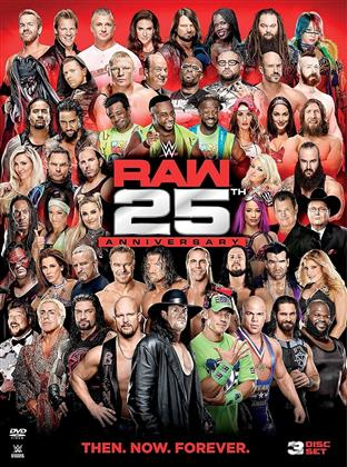WWE: Raw 25Th Anniversary (3 DVDs)