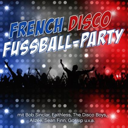 French Disco Fußball-Party