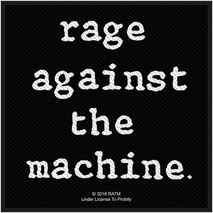 Rage Against The Machine Standard Patch - Logo (Loose)