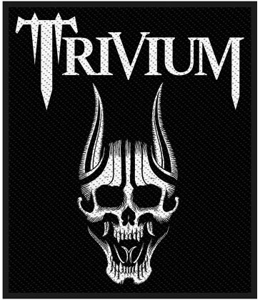 Trivium Standard Patch - Screaming Skull (Loose)