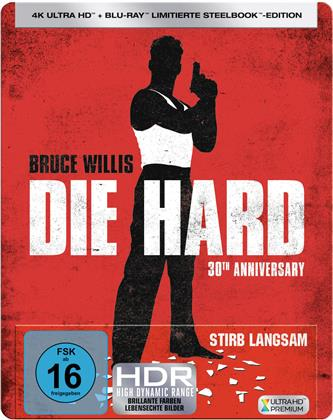 Die Hard (1988) (30th Anniversary Edition, Limited Edition, Steelbook, 4K Ultra HD + Blu-ray)