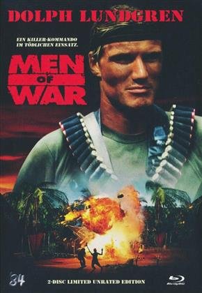 Men of War (1994) (Mediabook, Unrated, Blu-ray + DVD)