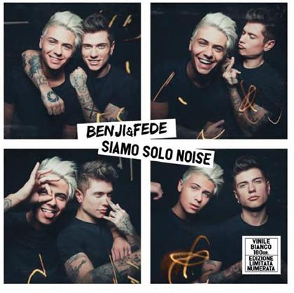 Benji & Fede - Siamo Solo Noise (Limited Edition, White Vinyl, 2 LPs)