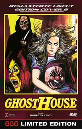 Ghosthouse (1988) (Grosse Hartbox, Cover B, Limited Edition, Remastered, Uncut)