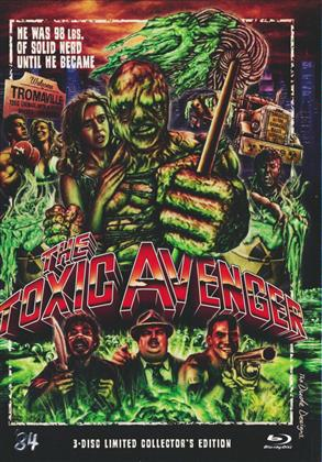 The Toxic Avenger (2000) (Mediabook, Blu-ray + 2 4K Ultra HDs)