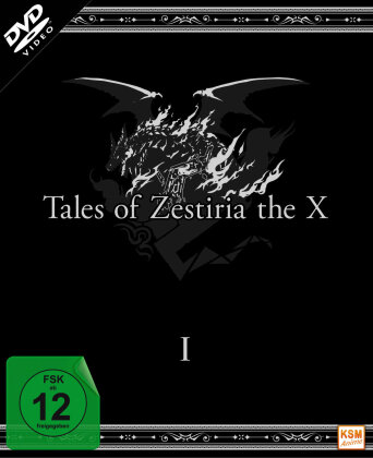 Tales of Zestiria the X - Staffel 1 (Digipack, Limited Edition, 3 DVDs)
