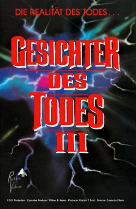 Gesichter des Todes 3 (1985) (Grosse Hartbox, Cover A, Limited Edition, Uncut)