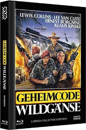Geheimcode Wildgänse (1984) (Cover A, Collector's Edition, Limited Edition, Mediabook, Uncut, Blu-ray + DVD)