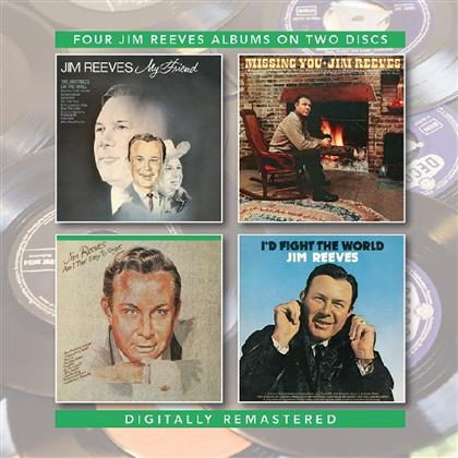 Jim Reeves - My Friend / Missing You / Am I That Easy To Forget (Remastered, 2 CDs)