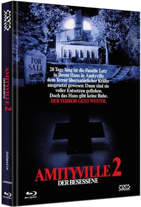 Amityville 2 - Der Besessene (1982) (Cover A, Collector's Edition, Limited Edition, Mediabook, Blu-ray + DVD)