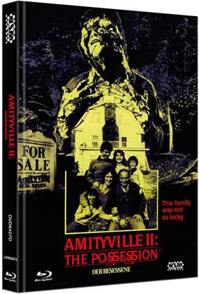 Amityville 2 - The Possession - Der Besessene (1982) (Cover D, Collector's Edition, Limited Edition, Mediabook, Blu-ray + DVD)