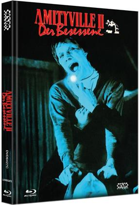 Amityville 2 - Der Besessene (1982) (Cover C, Collector's Edition, Limited Edition, Mediabook, Blu-ray + DVD)