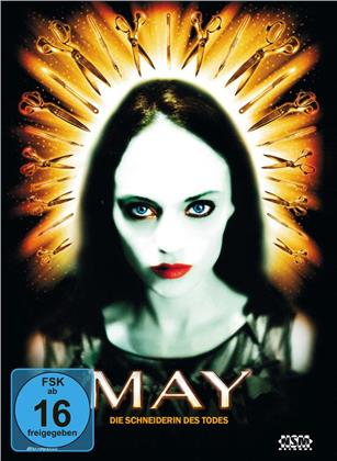 May - Die Schneiderin des Todes (2002) (Cover A, Collector's Edition, Edizione Limitata, Mediabook, Blu-ray + DVD)