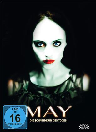 May - Die Schneiderin des Todes (2002) (Cover B, Collector's Edition, Edizione Limitata, Mediabook, Blu-ray + DVD)