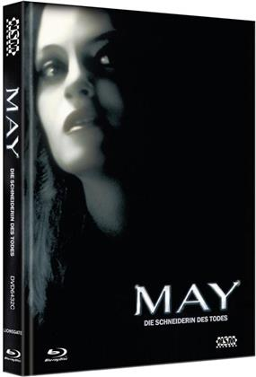 May - Die Schneiderin des Todes (2002) (Cover C, Collector's Edition, Edizione Limitata, Mediabook, Blu-ray + DVD)
