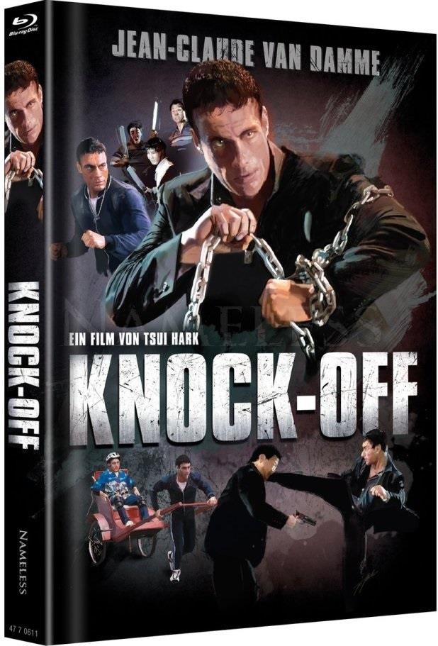 Knock-Off (1998) (Cover Artwork, Limited Edition, Mediabook, Uncut, Blu-ray + DVD)