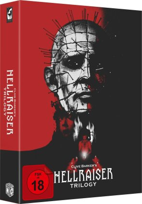 Hellraiser Trilogy (Digipack, Collector's Edition, Uncut, 4 Blu-ray + DVD)