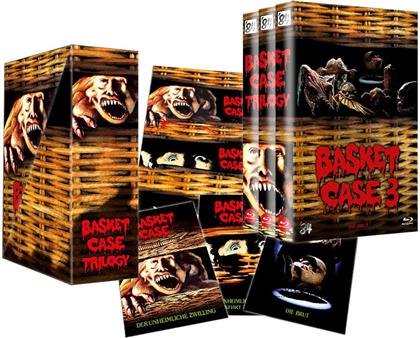 Basket Case 1-3 (Grosse Hartbox, Limited Edition, Uncut, 6 Blu-rays)