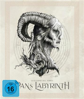 Pan's Labyrinth (2006) (Limited Edition, Ultimate Edition, 4 Blu-rays + DVD + CD)