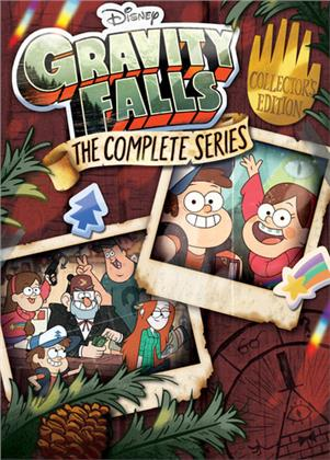 Gravity Falls - The Complete Series (Collector's Edition, 7 DVDs)