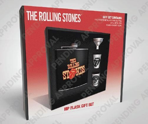 Rolling Stones: Tongue - Flachmann Set [170ml]