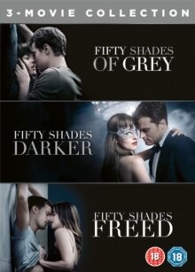 Fifty Shades 1-3 - Grey / Darker / Freed (3 DVDs)