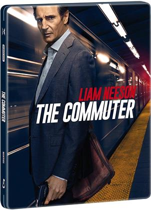 The Commuter (2018) (Steelbook, 4K Ultra HD + Blu-ray)
