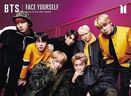 "BTS (Bangtan Boys) (K-Pop) - Face Yourself (""B"" Version, Limited Edition, CD + DVD)"