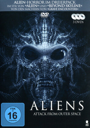 Aliens - Attack from Outer Space (3 DVD)