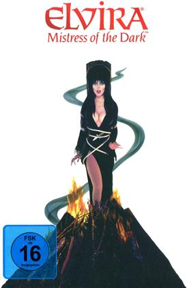 Elvira - Mistress of the Dark (1988) (Cover Fire, Limited Edition, Mediabook, Remastered, Uncut, Blu-ray + DVD)