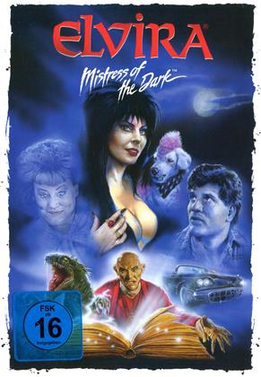 Elvira - Mistress of the Dark (1988) (Cover Artwork, Limited Edition, Mediabook, Remastered, Uncut, Blu-ray + DVD)