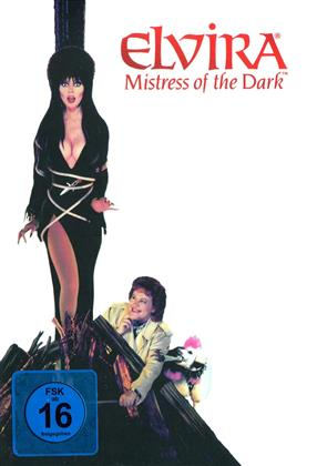 Elvira - Mistress of the Dark (1988) (Cover Dog, Limited Edition, Mediabook, Remastered, Uncut, Blu-ray + DVD)