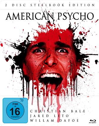 American Psycho (2000) (Limited Edition, Steelbook, Blu-ray + DVD)