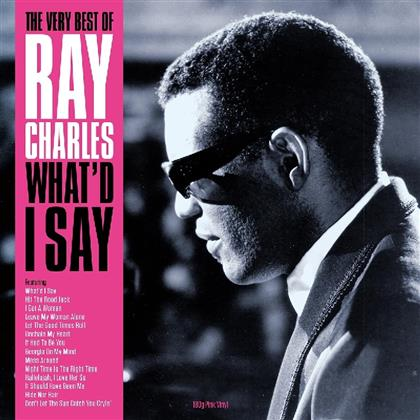 Ray Charles - What'd I Say (Not Now Records, Pink Vinyl, LP)