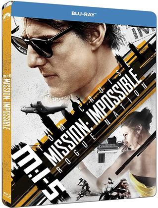 Mission Impossible 5 - Rogue Nation (2015) (Edizione Limitata, Steelbook)