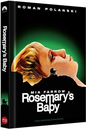 Rosemary's Baby (1968) (Cover A, Collector's Edition, Limited Edition, Mediabook, Uncut, Blu-ray + DVD)